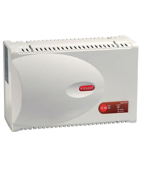 v guard vg 500 voltage stabilizer for ac upto 2 ton with single booster price in india buy v