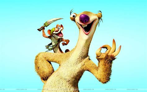 Ice Age Sid Cartoon Hd Wallpaper