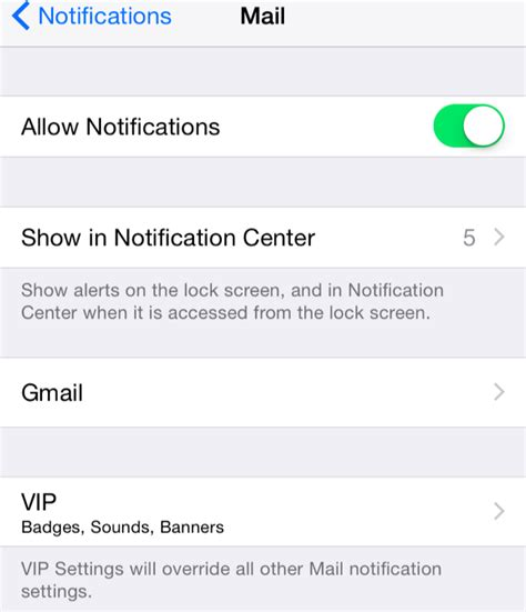 email notifications iphone how to only get notifications for emails you care about on