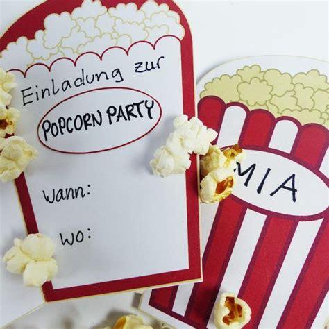 kino einladung digital einladungen kindergeburtstag