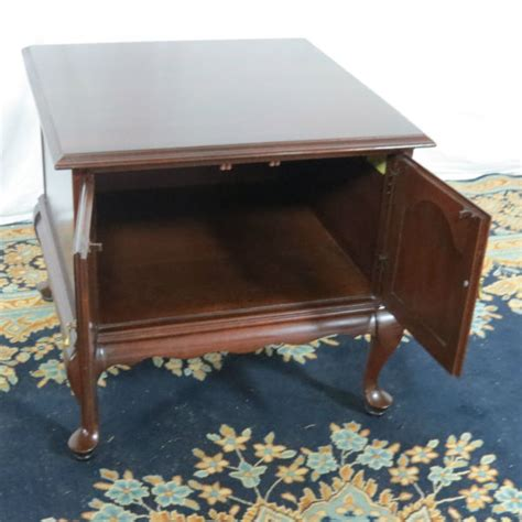Ethan Allen Cherry Desk by Ethan Allen Cherry End Table Casey And Gram
