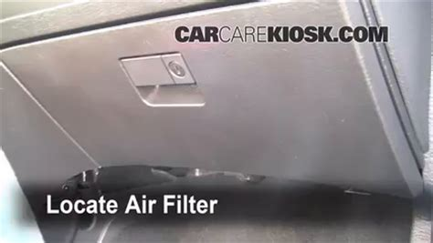 cabin filter replacement chrysler pacifica