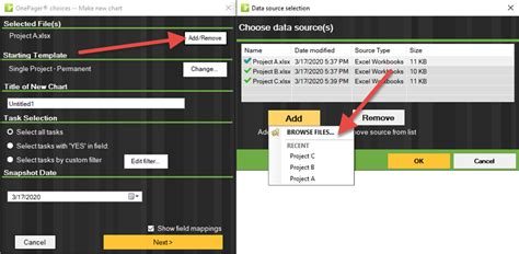 excel gantt chart  multiple projects onepager express