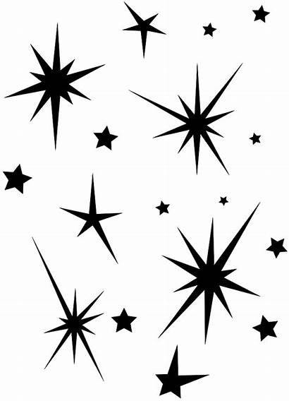 Stars Silhouettes Silhouette Star Vector Svg Outline