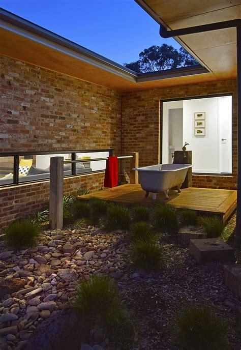 bathroom luxury outdoor showers and bath tubs on safari