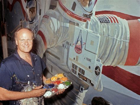 Robert McCall, inspirational master of the space painting ...