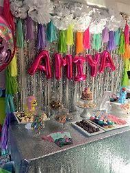 Trolls Birthday Party Decorations Ideas DIY