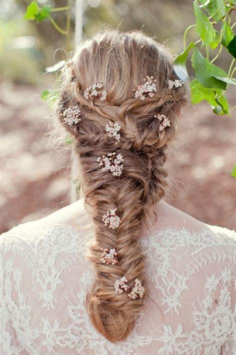 easy messy braids   wavy hairstyle medium