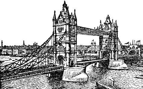 tower bridge clipart