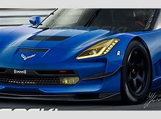2014 Chevrolet Corvette C7R Race Car Rendered