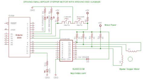Driving Bipolar Stepper Motor With Arduino Ulnag