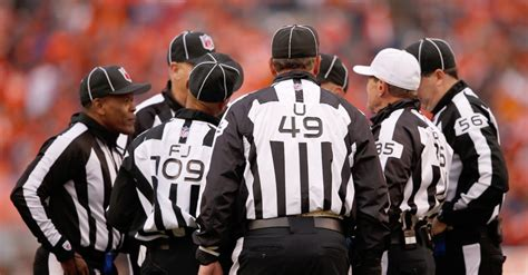 breaking nfl pulls  referees  chiefs rams game