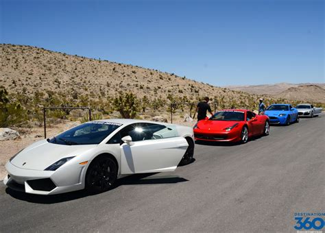 Red Rock Exotic Car Driving Experience