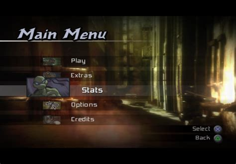 Tmnt Screenshots For Playstation 2