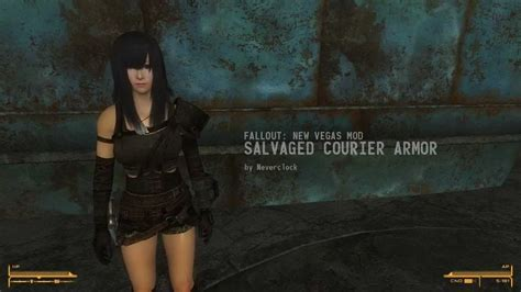Salvaged Courier Armor And House Mod