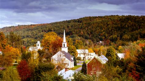 perfectly picturesque small towns  vermont