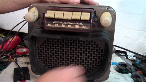 1947 thru 1953 chevy truck original am radio