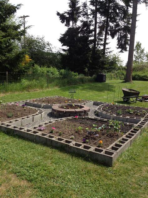best 25 cinder block garden ideas on diy