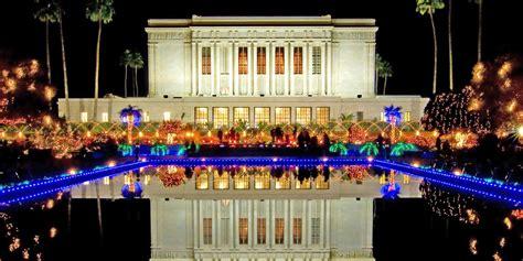home christmas lights scottsdale arizona lights display at mesa temple begins nov 28