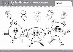 Car Wash Coloring Pages The Bumble Nums Color Episode 3 Tunneling Turnip