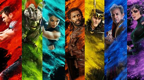 thor ragnarok  cast  wallpapers hd wallpapers id