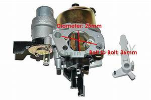 Baja Motorsports Mb165 Mb200 Mini Bike Motor Carburetor