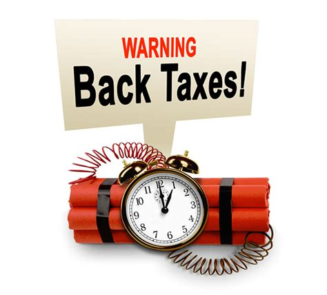 Help IRS Back Taxes