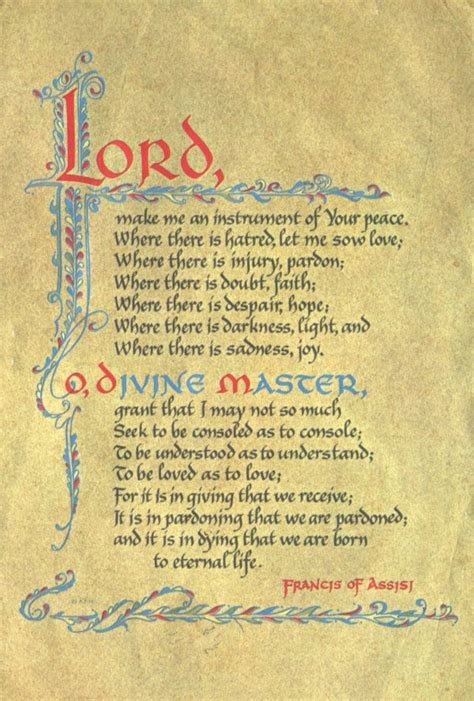 prayer of st francis addiction recovery