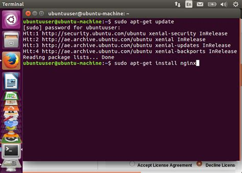 Ubuntu Resume Process Terminal by Ubuntu Nginx Tutorialspoint