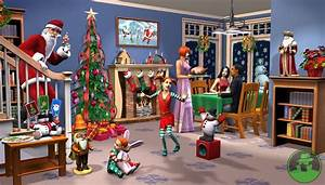 More Christmas, Winter Sims Holiday for Sims 3, Sims 4