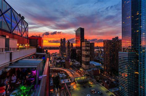 sky room bars  hells kitchen  york