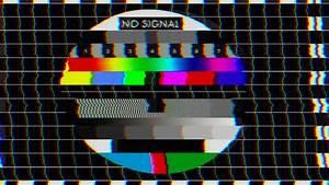 Bad TV - Loop - 2 - Glitchy Noise On HDTV Test Color Bars ...