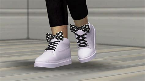 rukisims bow sneakers kids  toddler  redheadsims