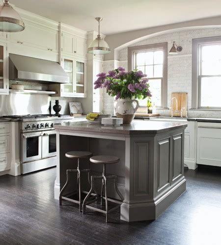 gray kitchen island transitional kitchen nam dang