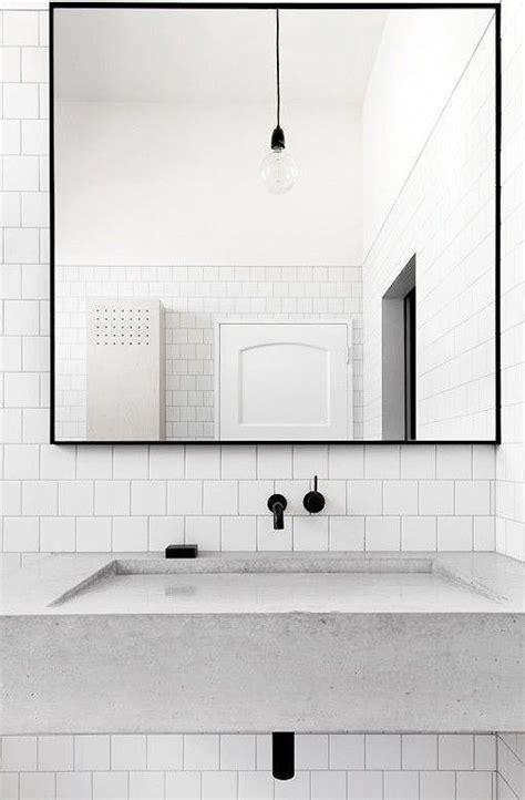 Bathroom Mirrors Black Frame by 25 Best Ideas About Minimalist Bathroom On