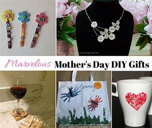 Homemade DIY - Marvelous Mother's Day Gifts and Crafts Ideas