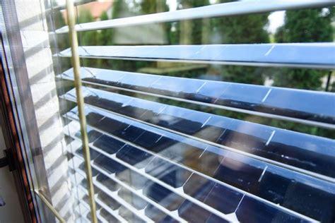 solar panel windows installed