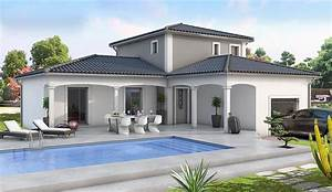 maison modele charme modele maison contemporain With charming modele de maison en l 1 maison moderne en u