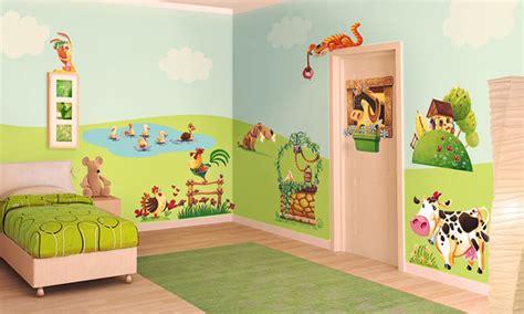 Stickers Per Camerette Bambini stickers murali bambini cameretta l allegra fattoria