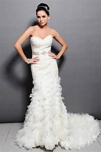elegant mermaid crystal beaded lace wedding dresses 2015 With cheap plus size formal dresses for weddings