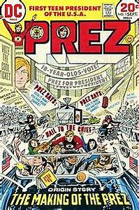 Prez Comics Wikipedia
