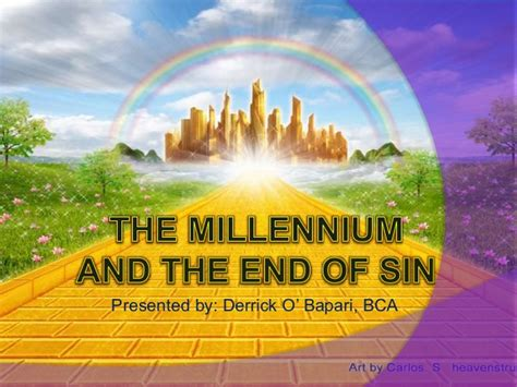 The Millennium and the End of Sin (A Doctrine of Seventh ...