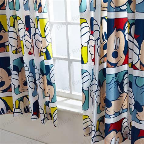 kids disney  character curtains    drop