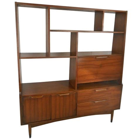 mid century rosewood book shelf mid century modern room divider bookcase at 1stdibs
