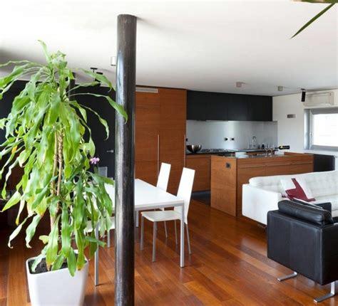 cuisine et salon moderne cuisine ouverte sur salon une solution pour tous les espaces