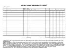 Excel Expenses Template Uk by Doc 585666 Sle Expense Reimbursement Form 8