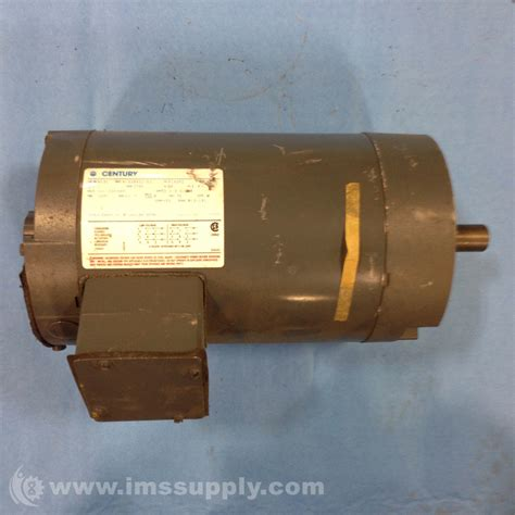 Electric Motor Supply by Century Electric Motors 8 338571 02 R131 1 Hp Motor Ims