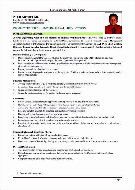 latest professional resume format   latest