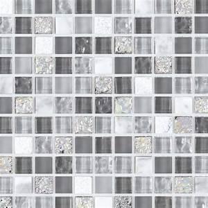 mosaique pierre et verre glacier grise indoor by capri With salle de bain mosaique grise