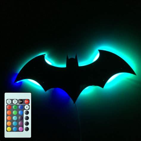 novelty batman wall l sconce remote light